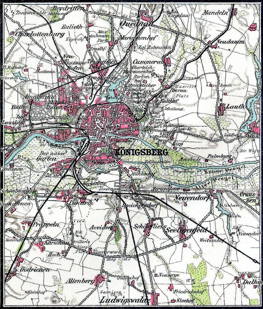 011 Königsberg und Umgebung   Karte | Karten, Umgebung, Geschichte
