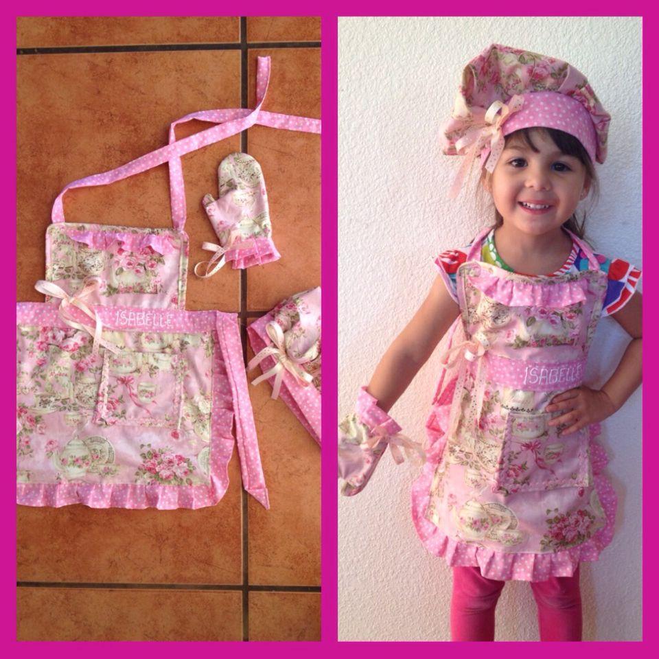 Apron for little girls