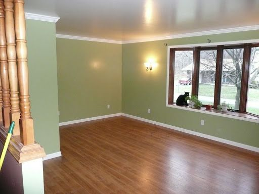 Simple Baseboards And Trim