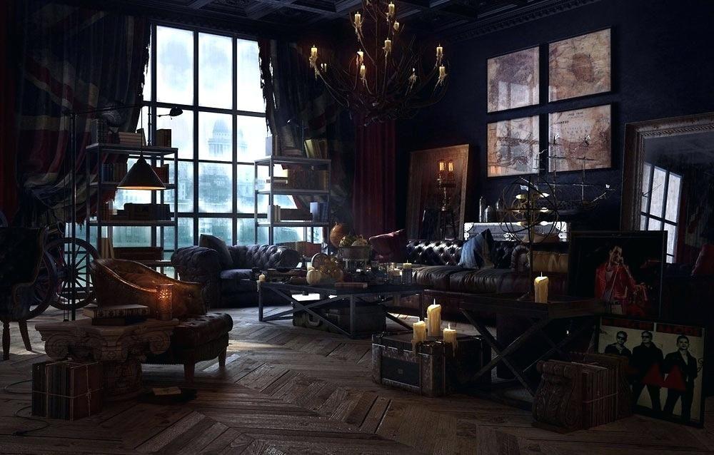 Steam Punk Living Room Vibrant Ideas Steampunk Living Room Home
