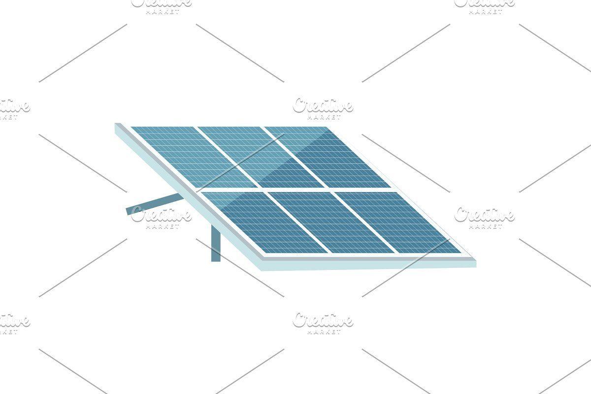 Solar Panel Cartoon Illustration Custom Designed Illustrations Cartoon Customdesigned Illustration Illustrations Panel Solar Solar Panels Solar Pv Panels