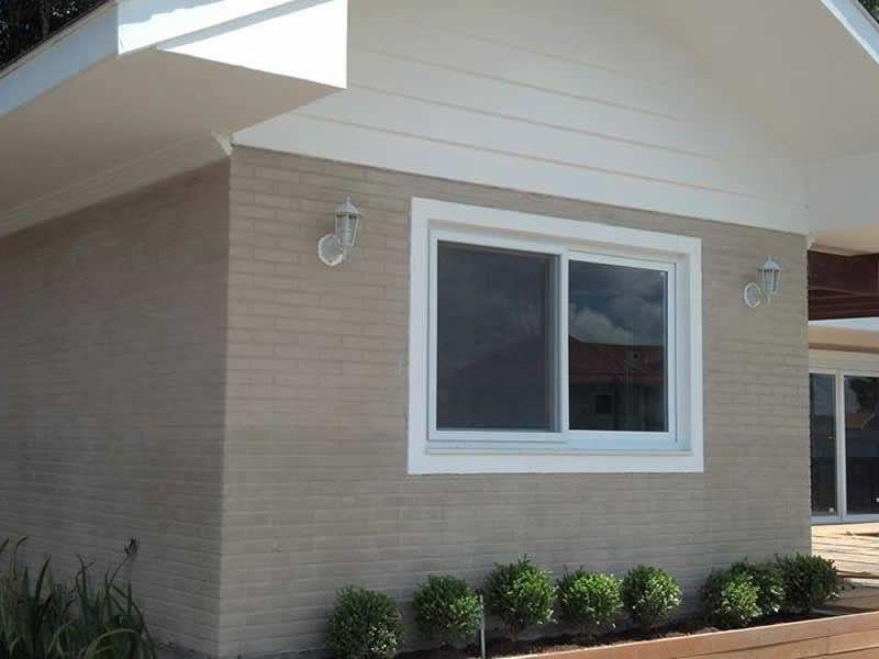 Casas com tijolo ecologico pesquisa google projetos de - Fachadas de casas pintadas ...