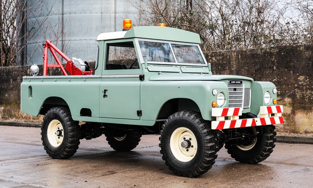 This 1976 Land Rover Series Iii Rescue Vehicle Is Going To Auction