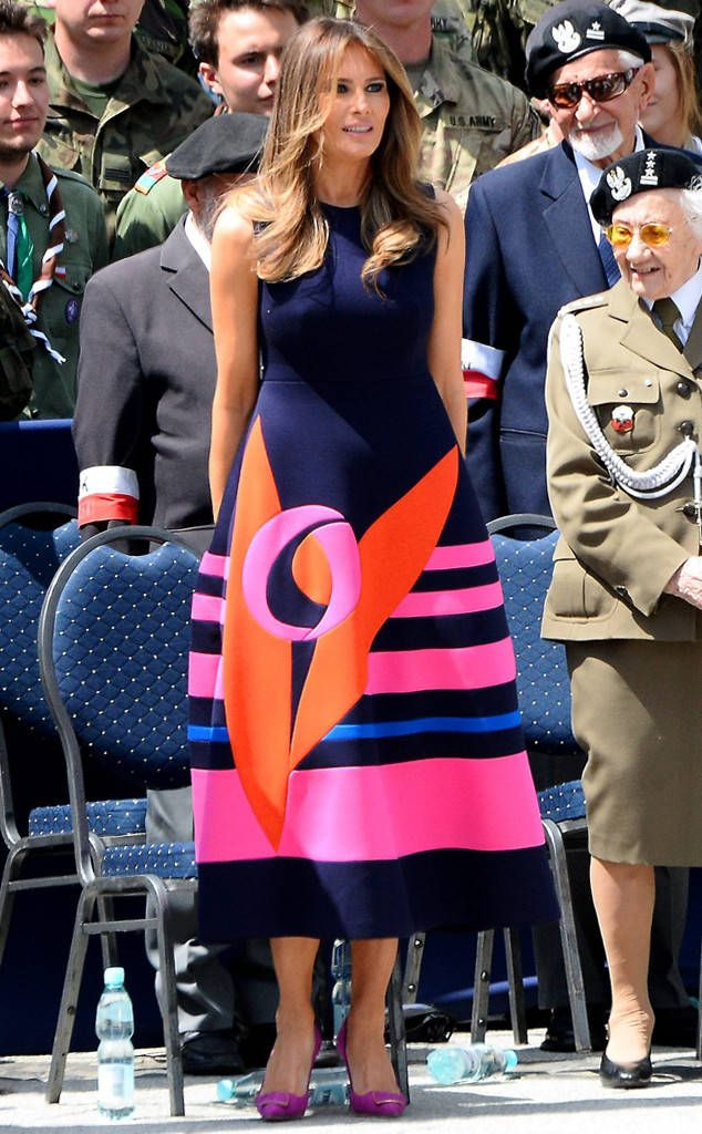 Feeling Colorful: Melania Trump's Best Looks