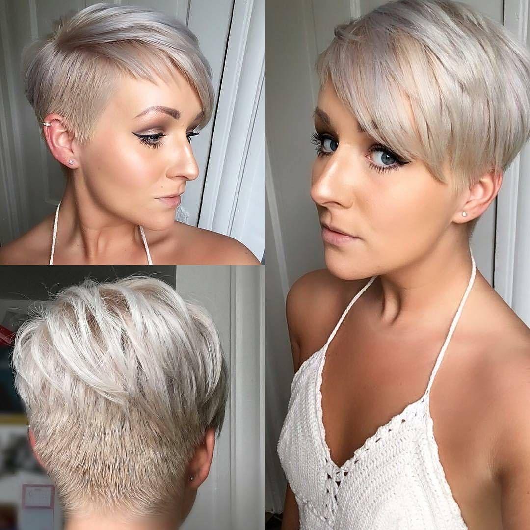 Style pixie cut dessins femmes coiffures courtes pour l - Dessin de coupe de cheveux ...