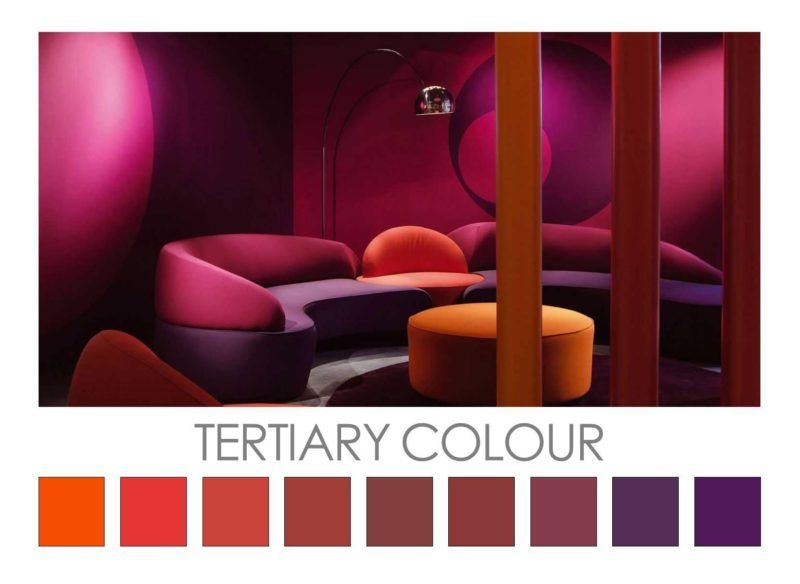 Image result for tertiary colour combinations