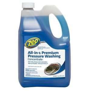 Zep 170 Oz All In One Pressure Wash Zuppwc160 At The Home Depot Pressure Washing