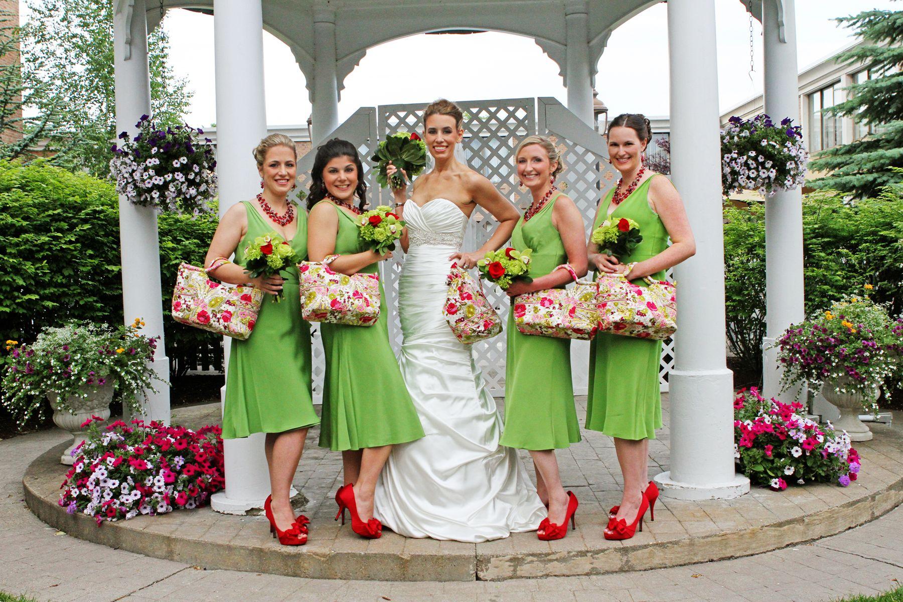 Vera Bradley Wedding inspiration in Make Me Blush (photo courtesy of ...