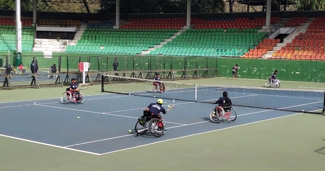 All India Tennis Association initiated wheelchair tennis ...