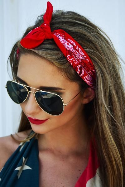 Secret Keeper Bandana Red Shophopes Bandana Hairstyles