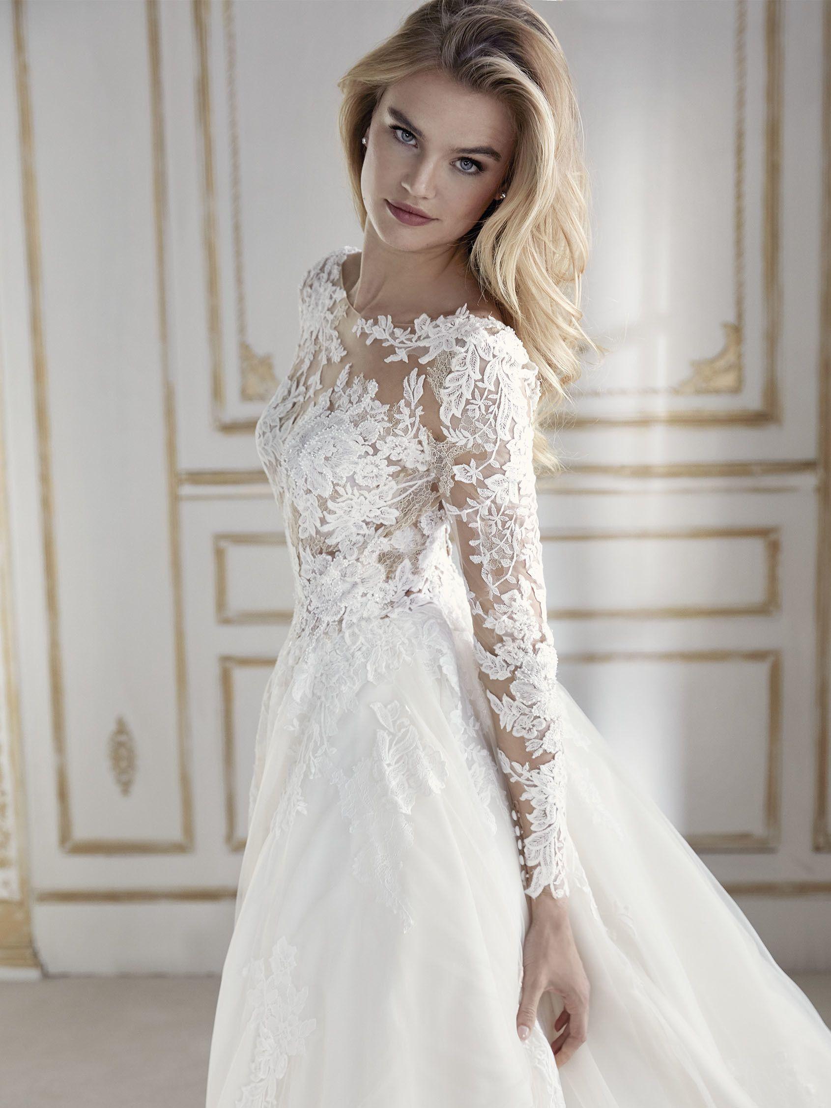 Brautkleid im Prinzessin-Stil | Wedding Dresses | Pinterest ...