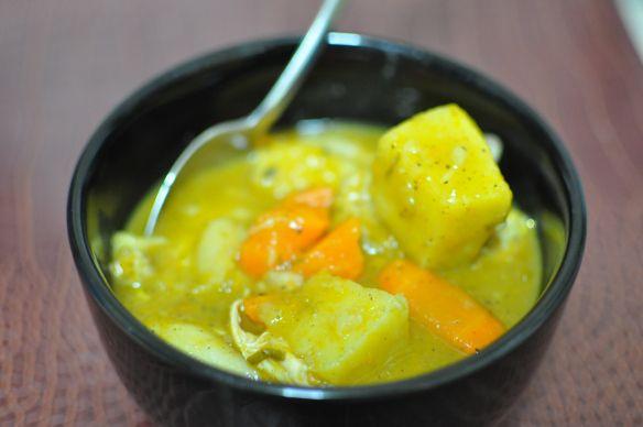 west indian chicken soup with dumplings  chicken dumpling