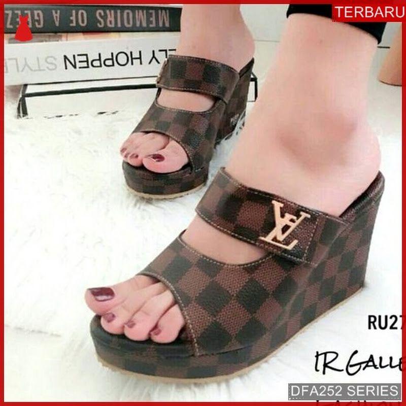 Dfa252s43 Ss19 Sandal Wedges Wanita 5513 Dewasa Bmgshop Sintesis