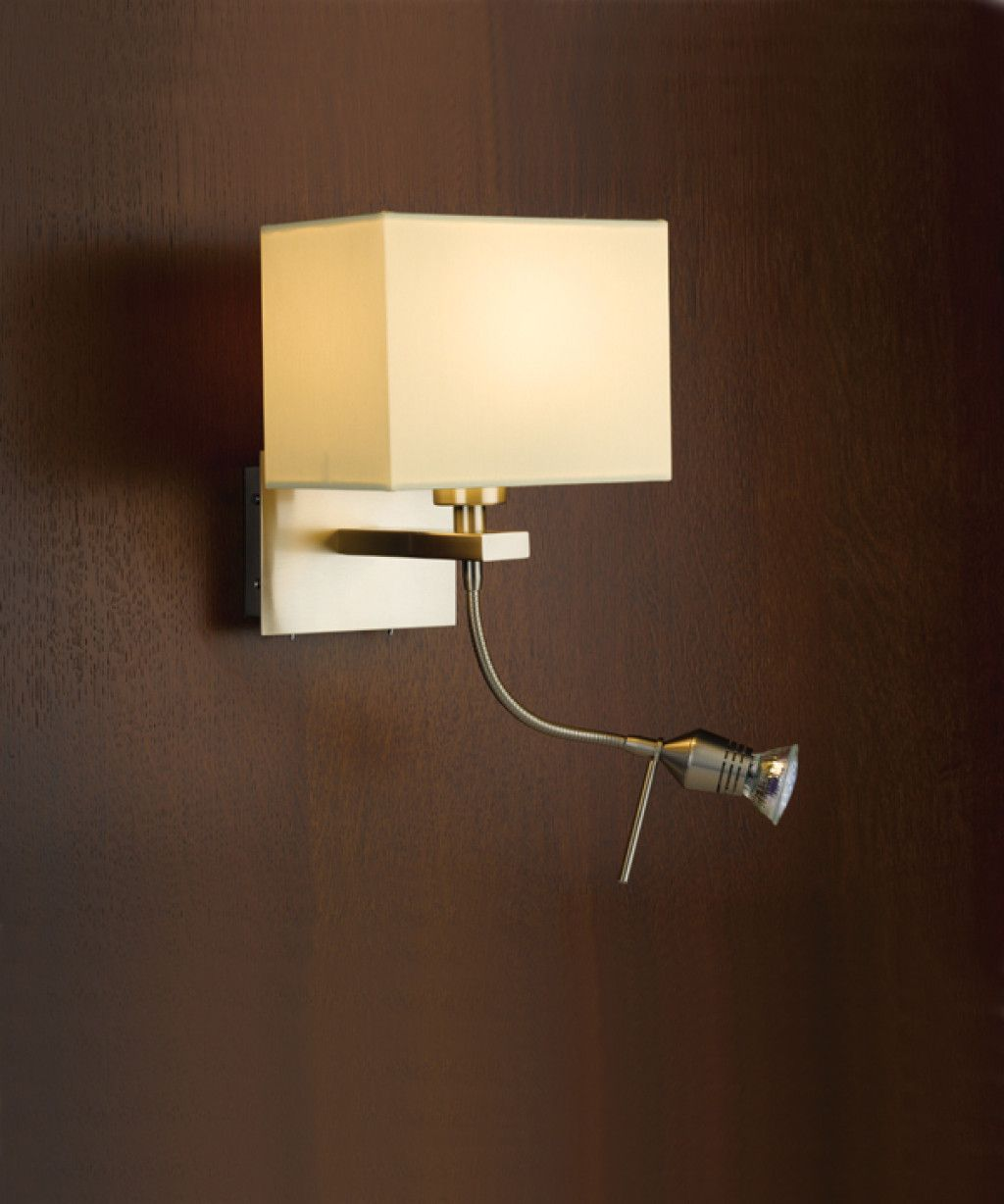 wall lamp with reading light Decor Color Ideas Bedroom Wall Lamps