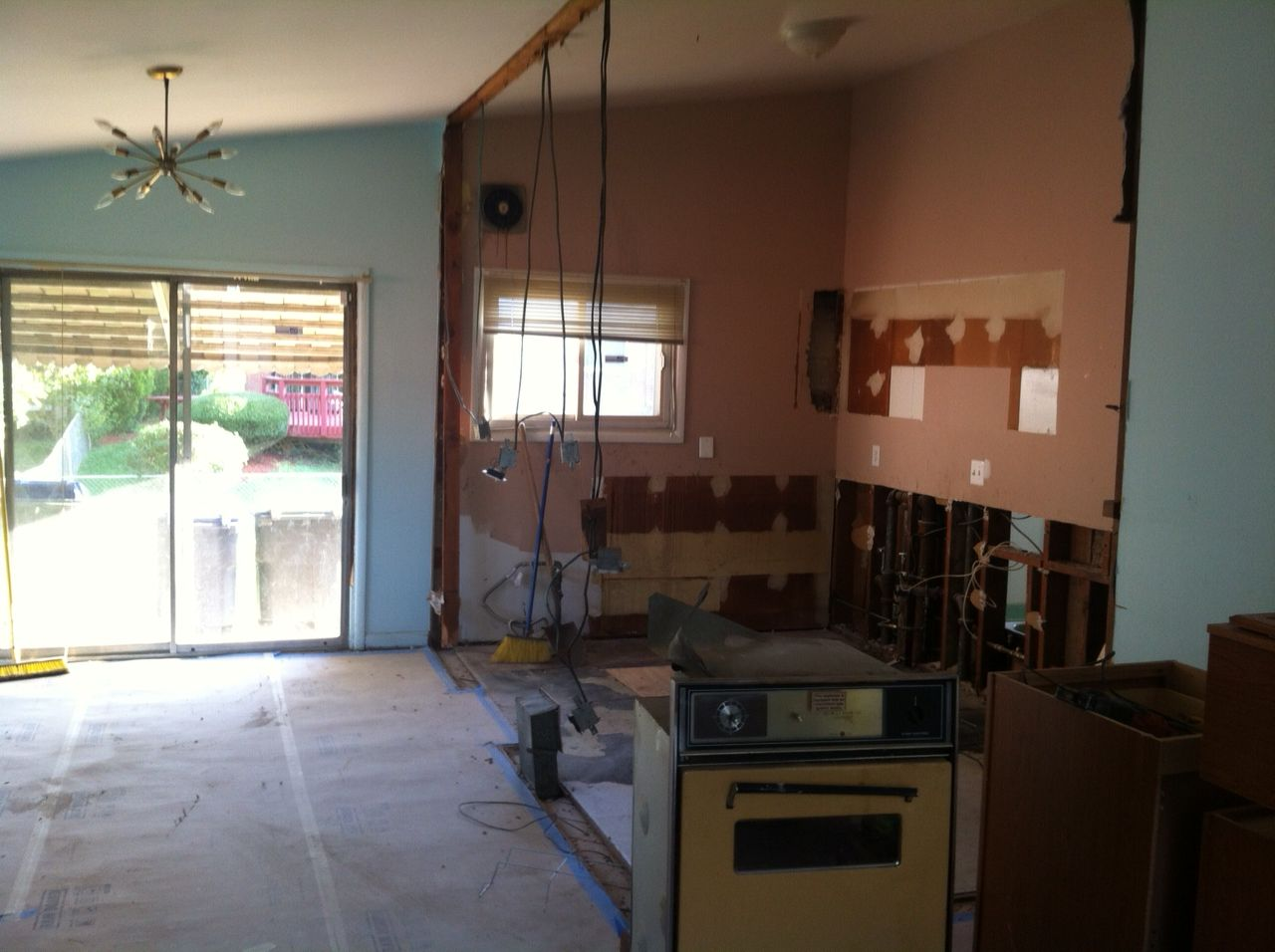 our kitchen DEMO