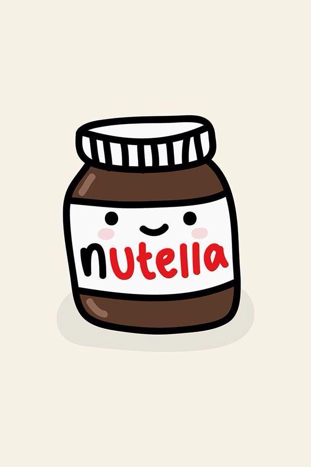 pot de nutella en fond d 39 ecran so cute affiches pinterest pot de nutella nutella et cran. Black Bedroom Furniture Sets. Home Design Ideas