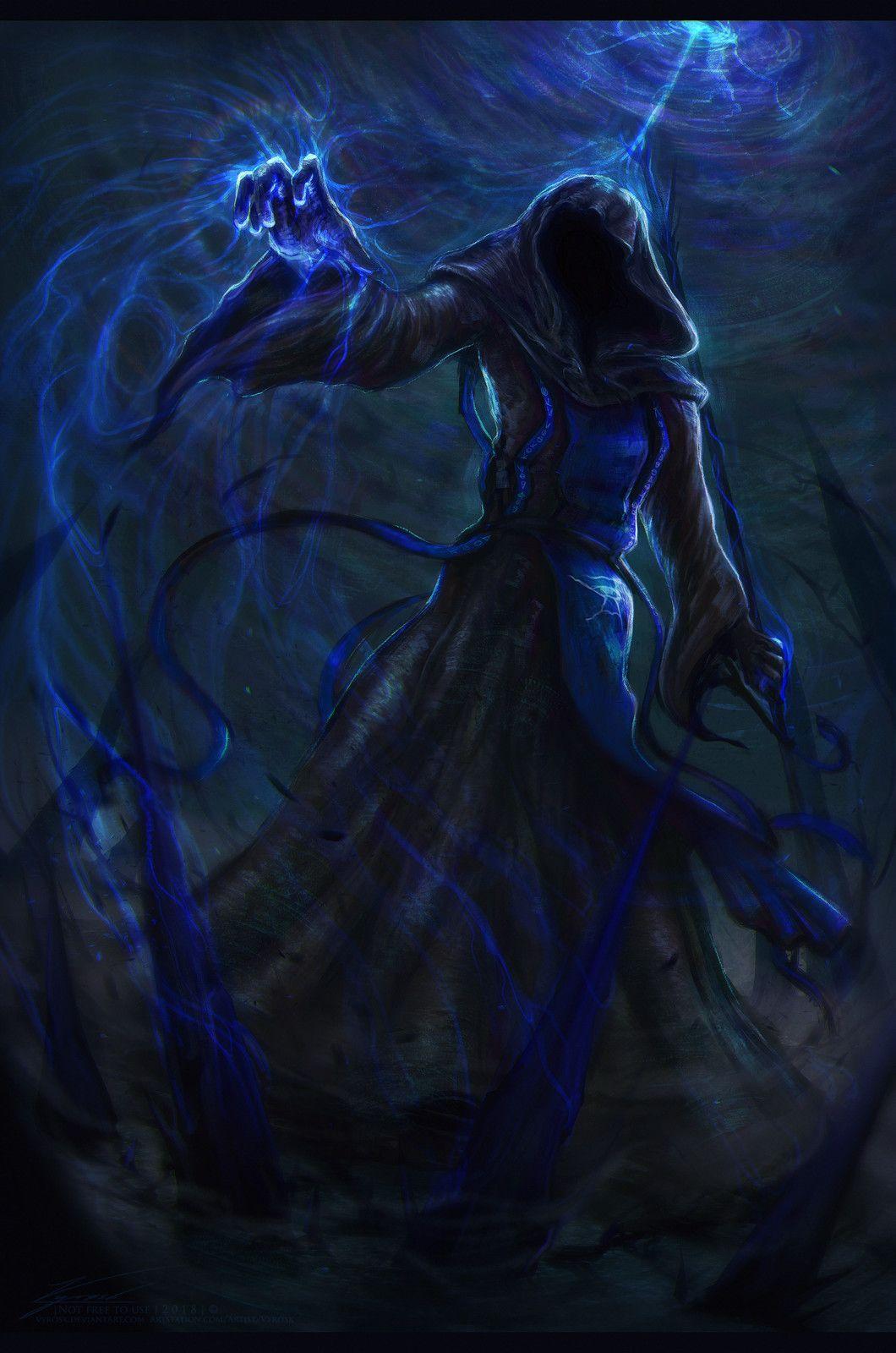 Dark Magic, Vyrøsk Veryl on ArtStation at https://www ...