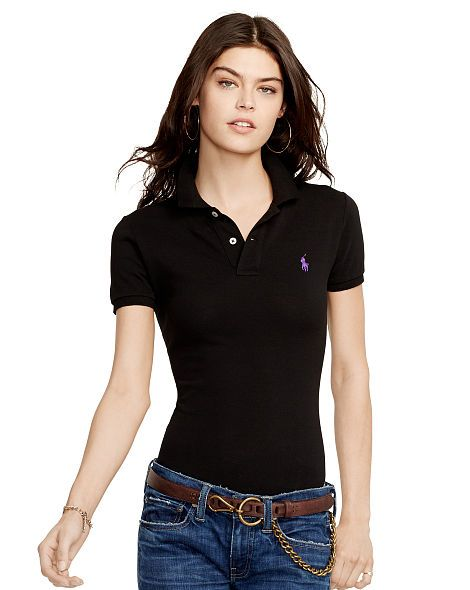836ae8127 Skinny-Fit Polo Shirt - Polo Ralph Lauren Polo Shirts - RalphLauren ...