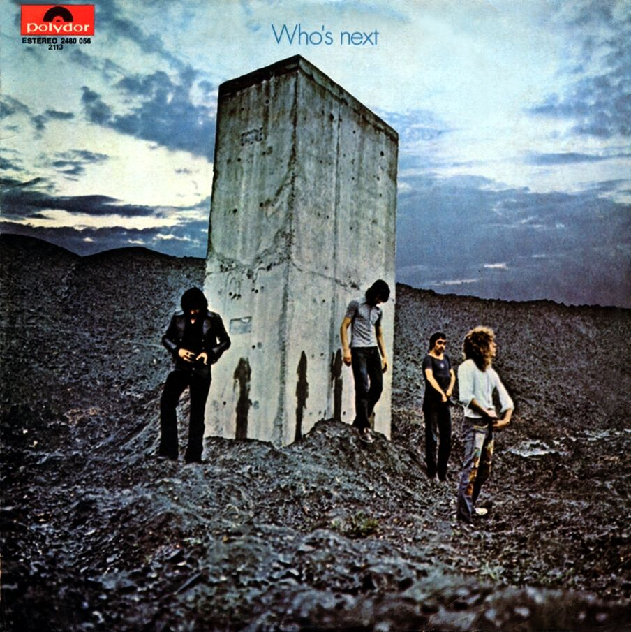 The Who - Who's Next | Greatest album covers, Cool album covers ...