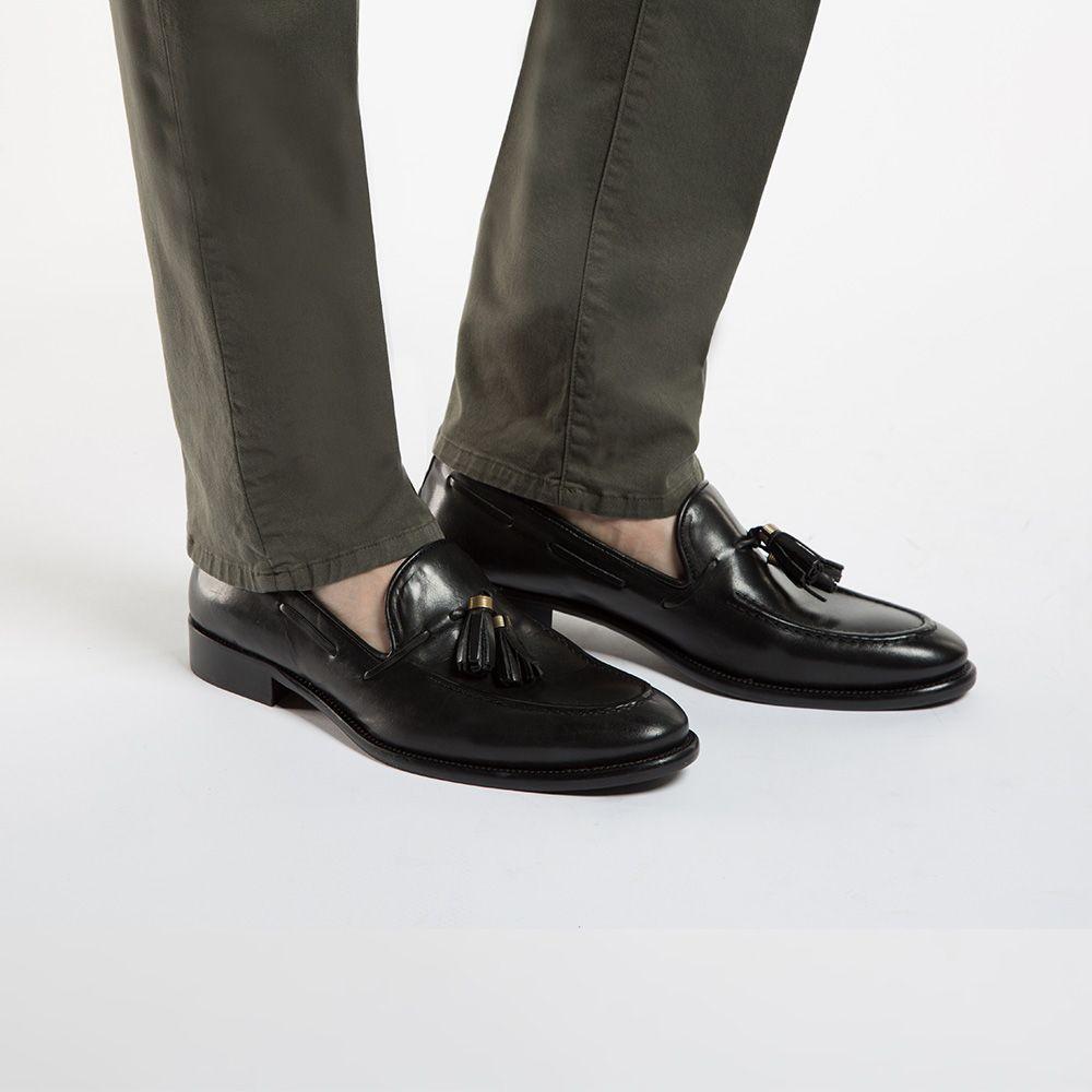 Czarne Buty Skorzane Wittchen 86 M 056 Summer Shoes Men S Shoes Shoes