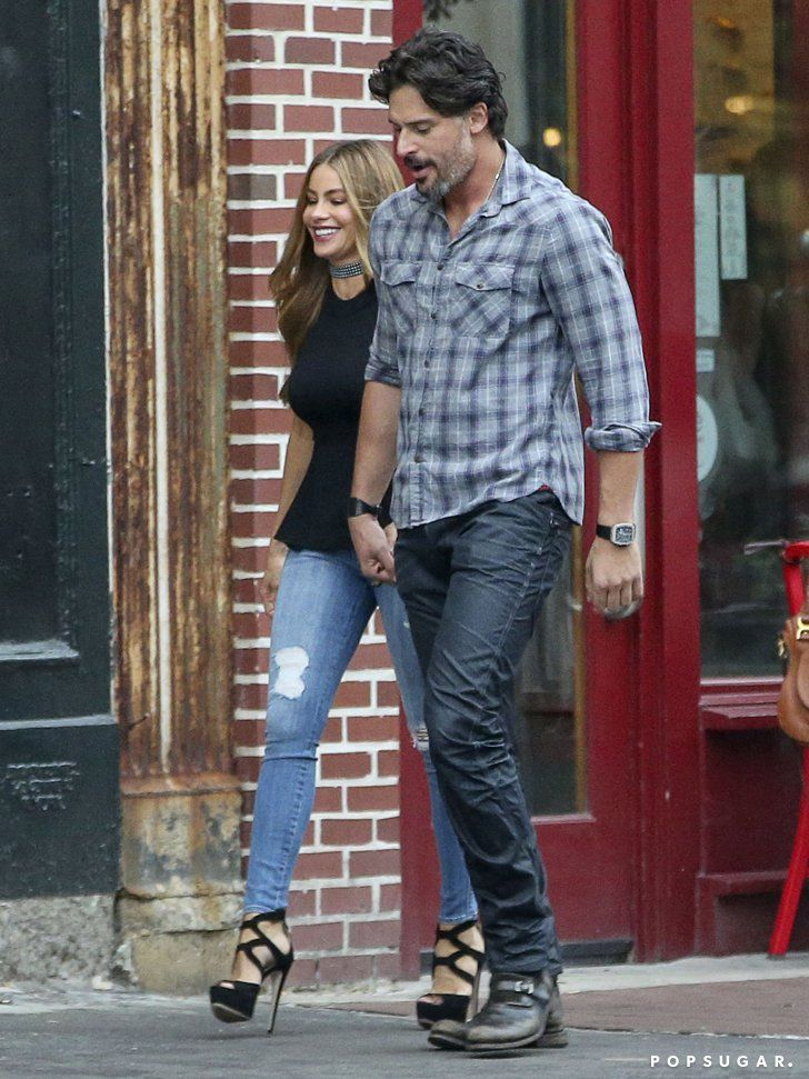 This Is Probably The Hottest Double Date You Ve Ever Seen Sofia Vergara Sofia Vergara Style Joe Manganiello