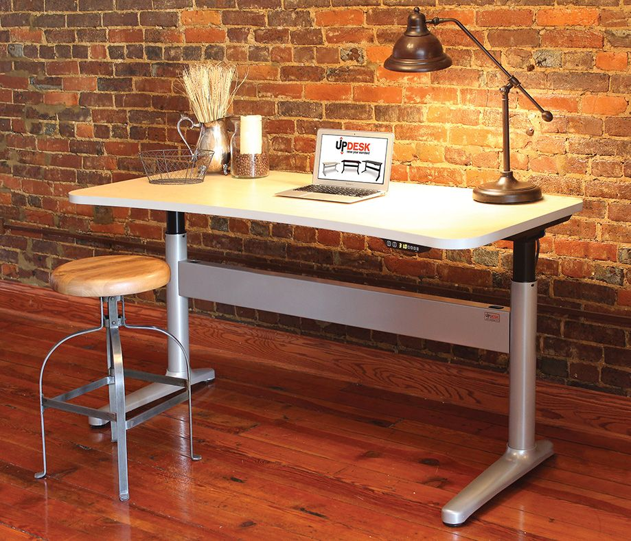 Updesk ergonomic height adjustable stand up desk for Standing desk at home
