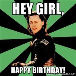 Pix For Loki Happy Birthday Others Loki Loki Thor Marvel