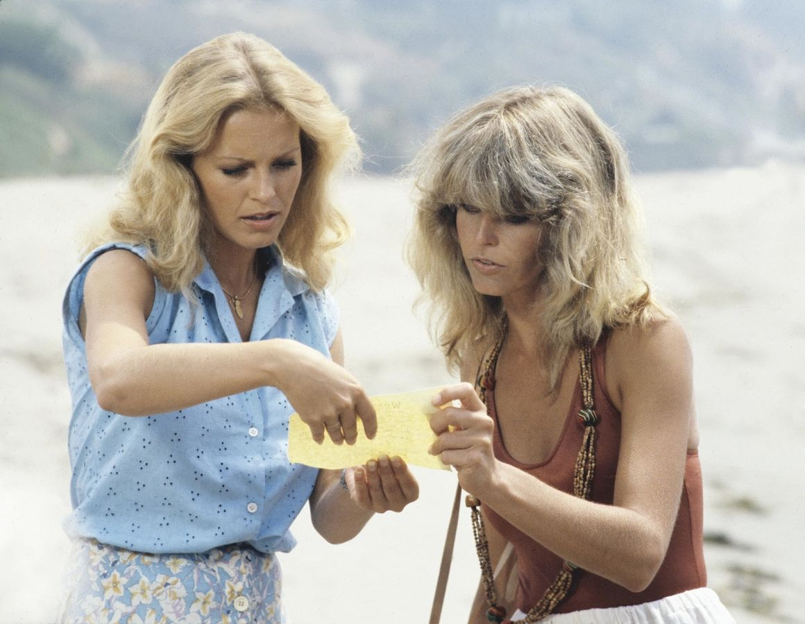 25 Vintage Snapshots Of Charlie S Angels That Exemplify 70s Power