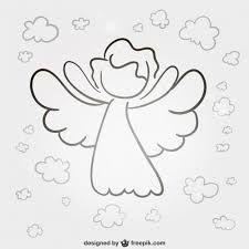 Bildergebnis Fur Schutzengel Vorlage Engel Zeichnen Engel Zeichnung Weihnachten Zeichnung