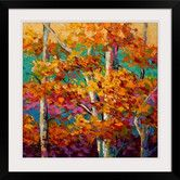 Found it at Wayfair - Abstract Autumn III by Marion Rose Framed Painting Print