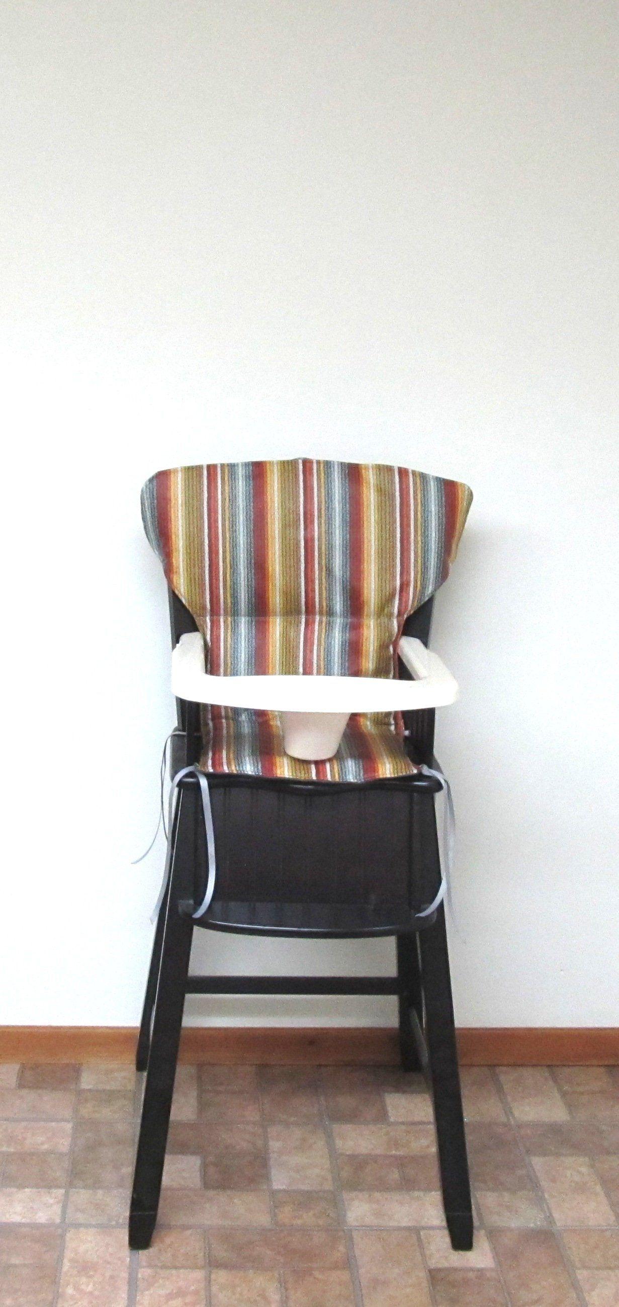 Eddie Bauer Newport LAMINATED cotton high chair cover