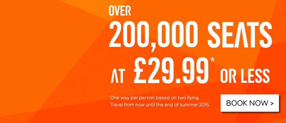 Flights Book To Europe Easyjet