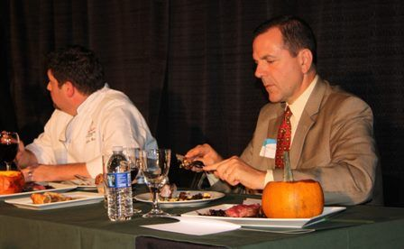 Judges savor the flavor of our chefs work