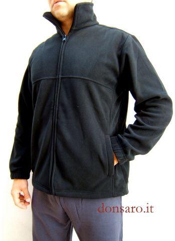 bba6de51ab la felpa a giacca in pile pesante antipilling di CAMPAGNOLO sport è ...