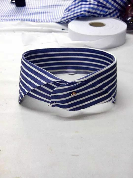 Our new signature collar! Coming up soon with wide selections of ready to wear shirts! Stay tuned!