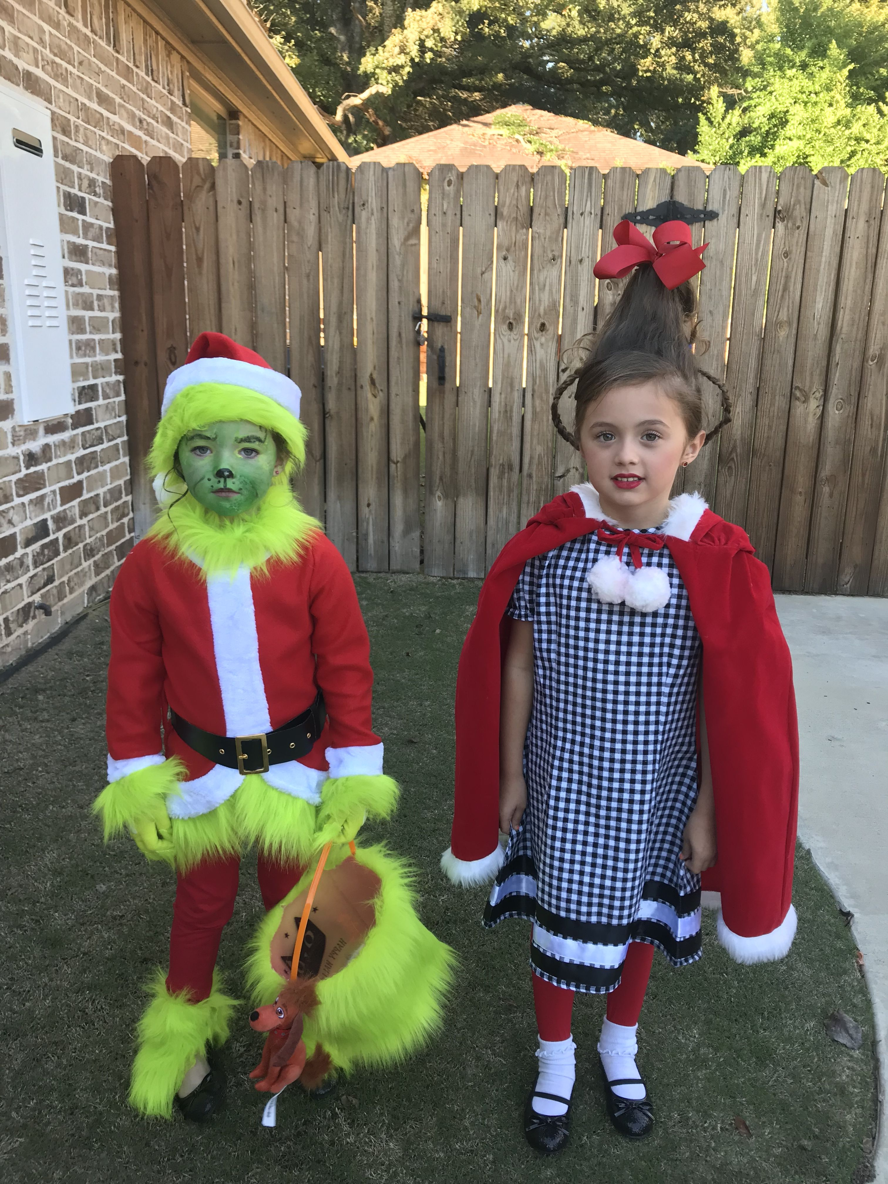 halloween costumes, the grinch and cindy lou who | halloween