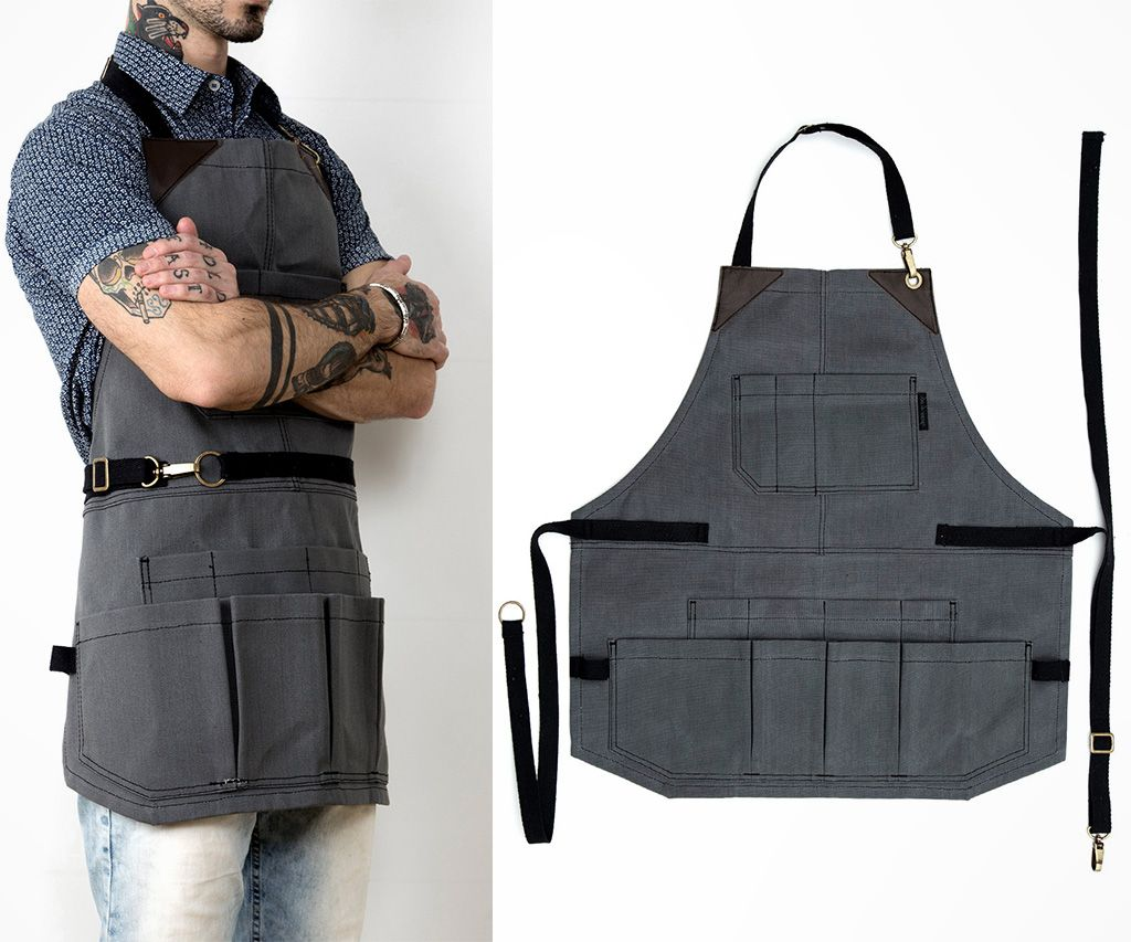 tool apron with lots of pockets | daily cool things | tool