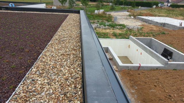 toiture vegetale prix m2 toiture vegetale pas cher toiture v g talis e sur bac acier toiture. Black Bedroom Furniture Sets. Home Design Ideas