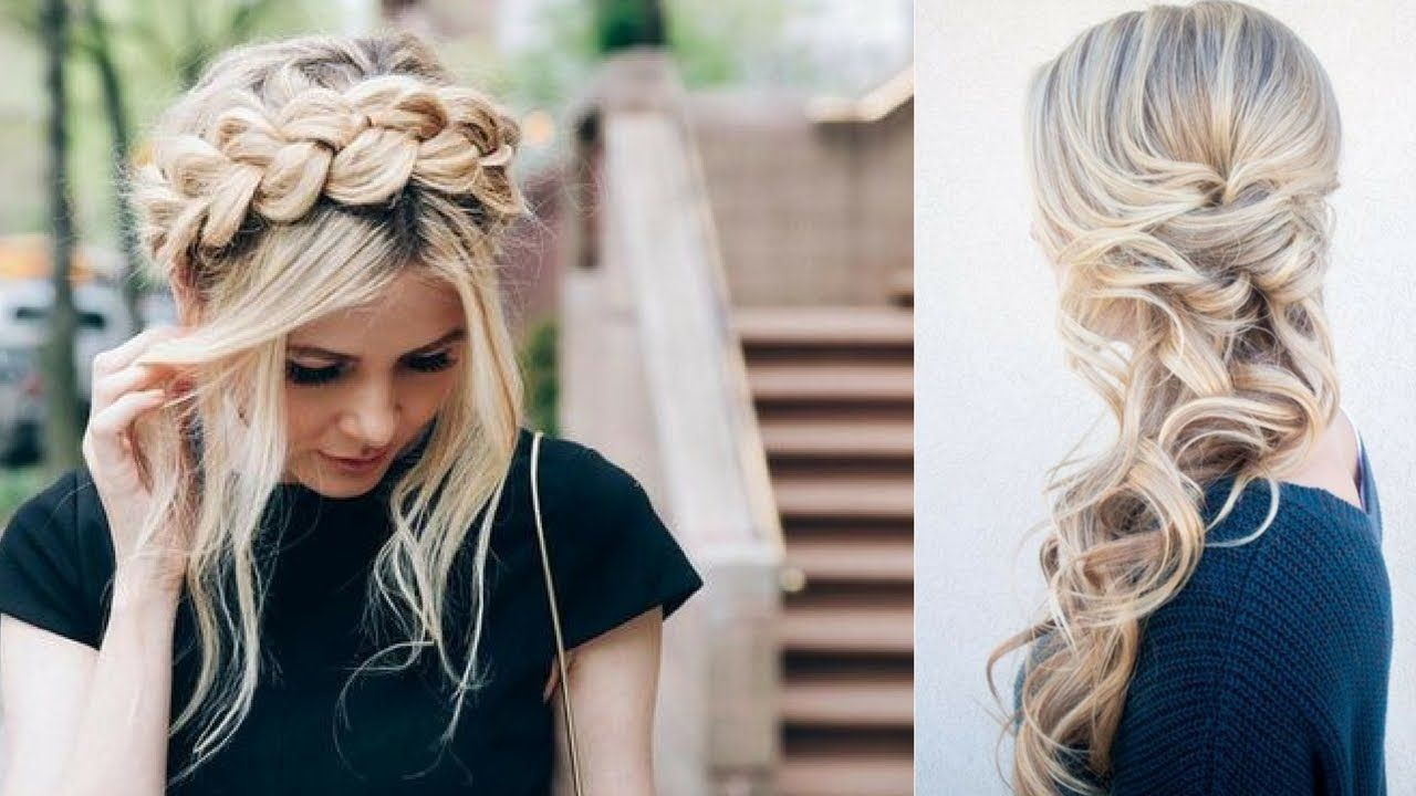 Simple quick and easy hairstyles day pinterest
