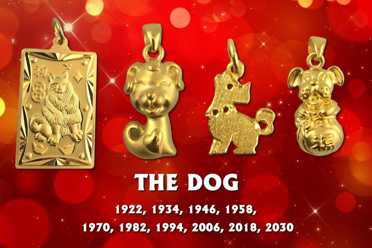 Our 24K Gold Chinese Zodiac Charms Lao Feng Xiang Jewelry Canada