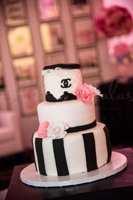 chanel bridal shower, decor, ideas, wedding, decor, idea, center piece, flowers, chanel, chanel cake idea, fashion illustrations, chanel themed shower ideas   www.baysstylediary.com