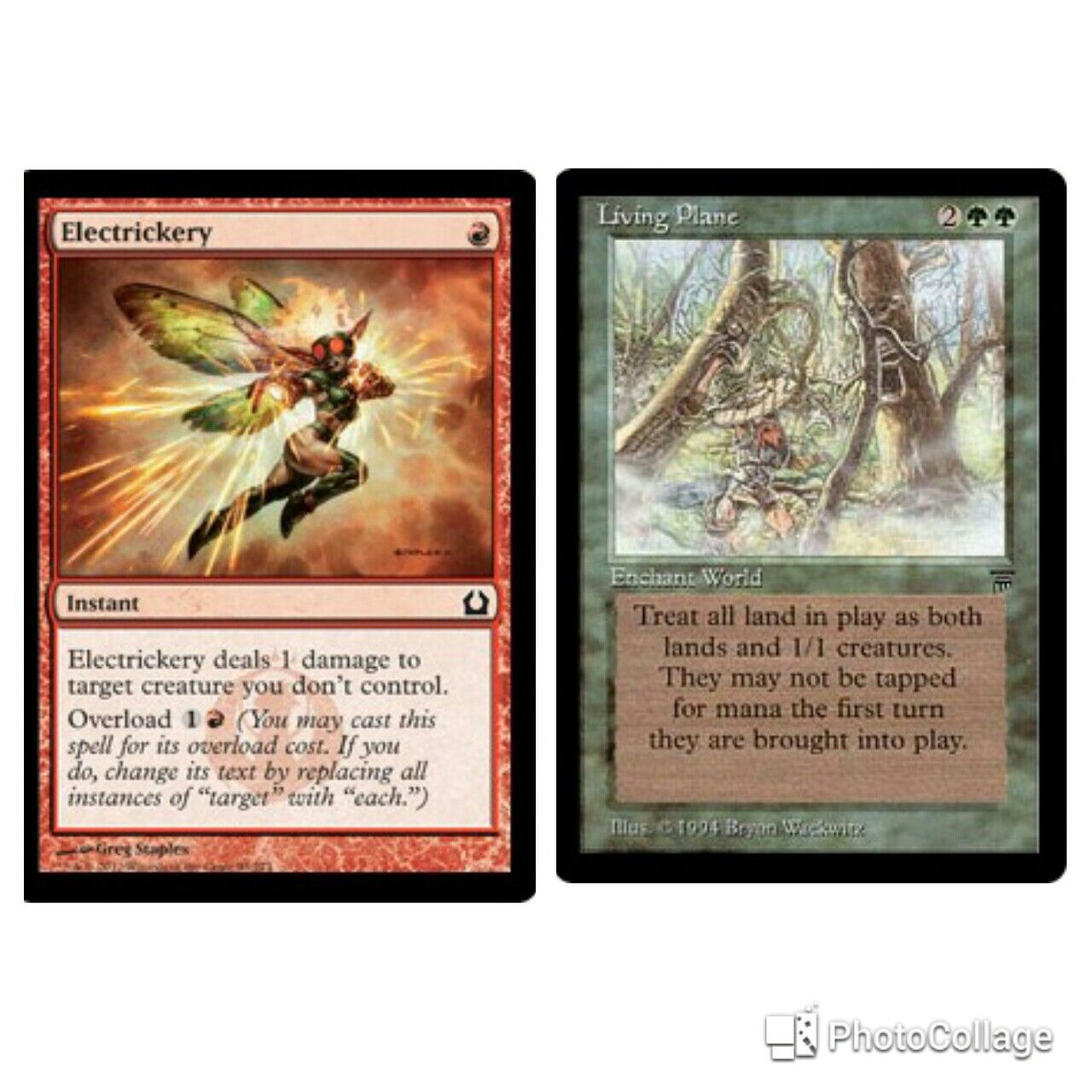 Pair Living Plain With Goblin Sharpshooter You Can Mow Down All Lands Magic The Gathering Cards Magic The Gathering Magic Cards