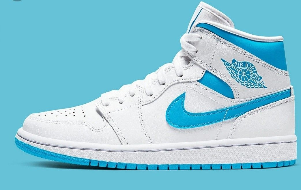Air Jordan 1 Blue White nel 2020 | Air jordans, Nike air ...