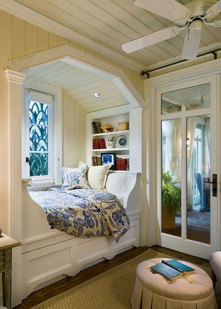 Pin By Miranda Murnin On Bed Insert Bedroom Nook Cabin Chic Home