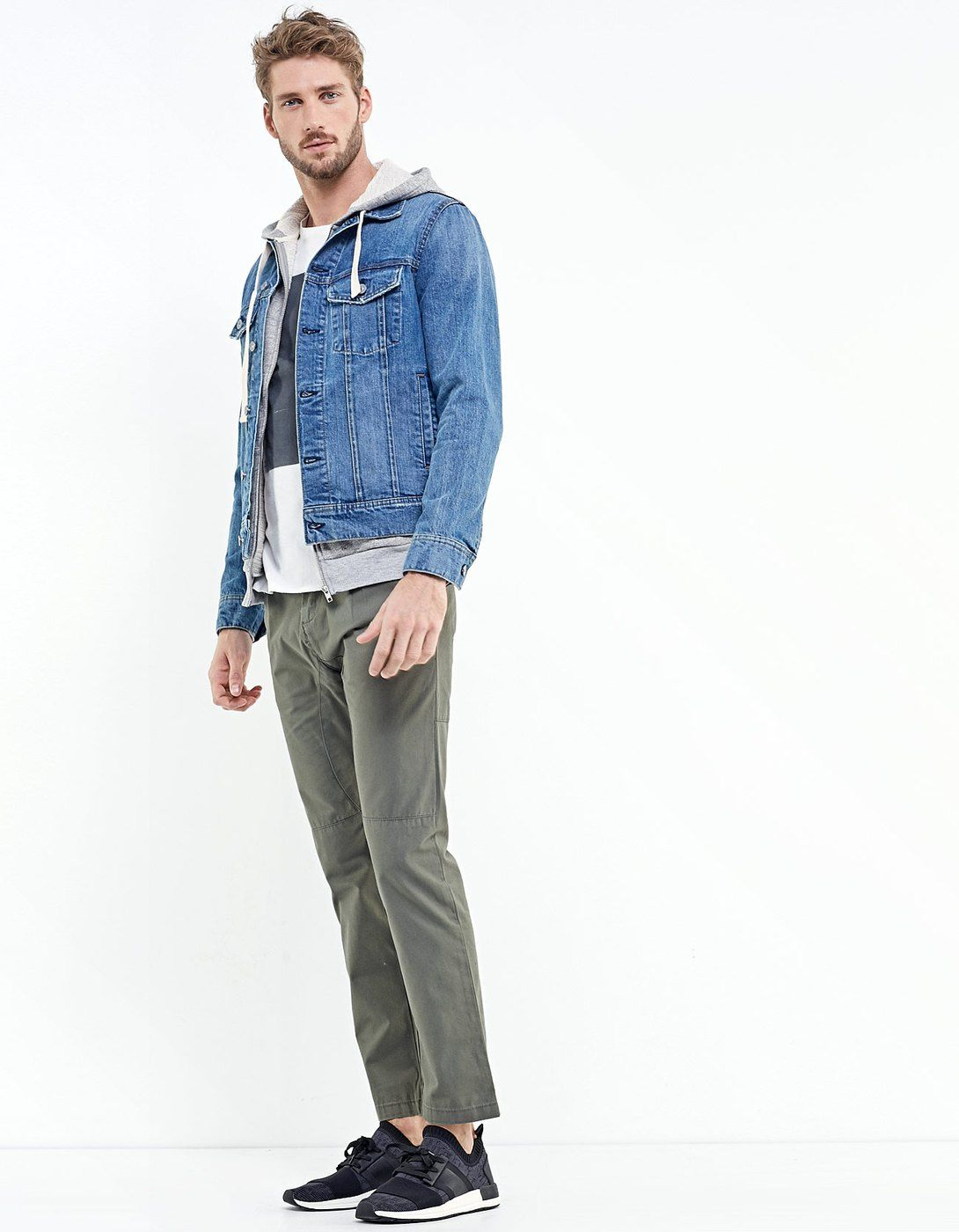 044aade76a Stradivarius denim jacket