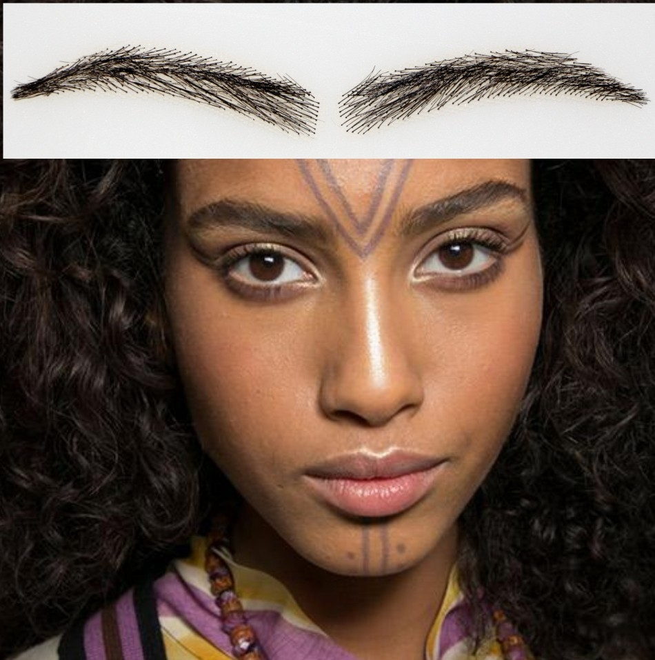 (49.00$)  Watch more here - http://aizhy.worlditems.win/all/product.php?id=32609735076 - 2016 Promotion New Arrival Natural Sobrancelha Angela Eyebrow Free Shipping Human Hair Eyebrows /natural Hair/eyebrow Enhancer