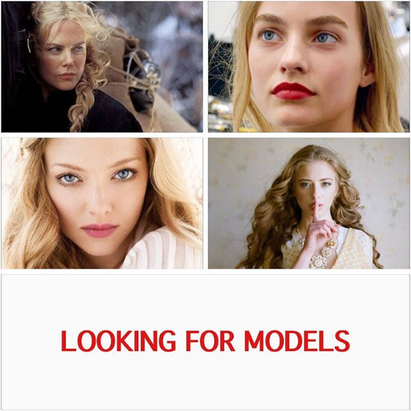 Model call for wedding inspiration shoot in Moscow