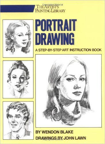 Portrait Drawing: A Step-by-Step Art Instruction Book (PDF ...