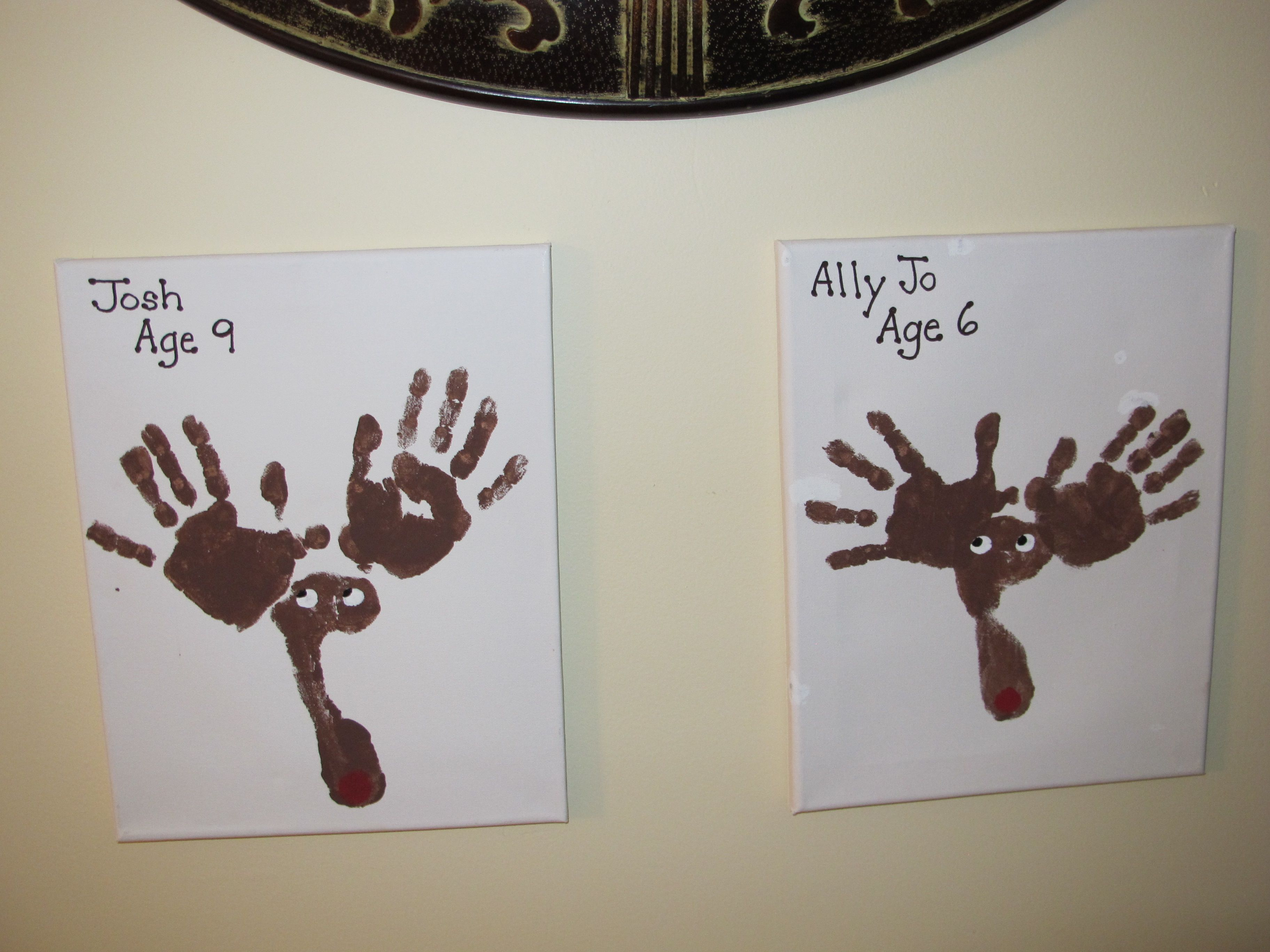 Kids Use Their Hands Feet And Brown Fingerpaints To Make