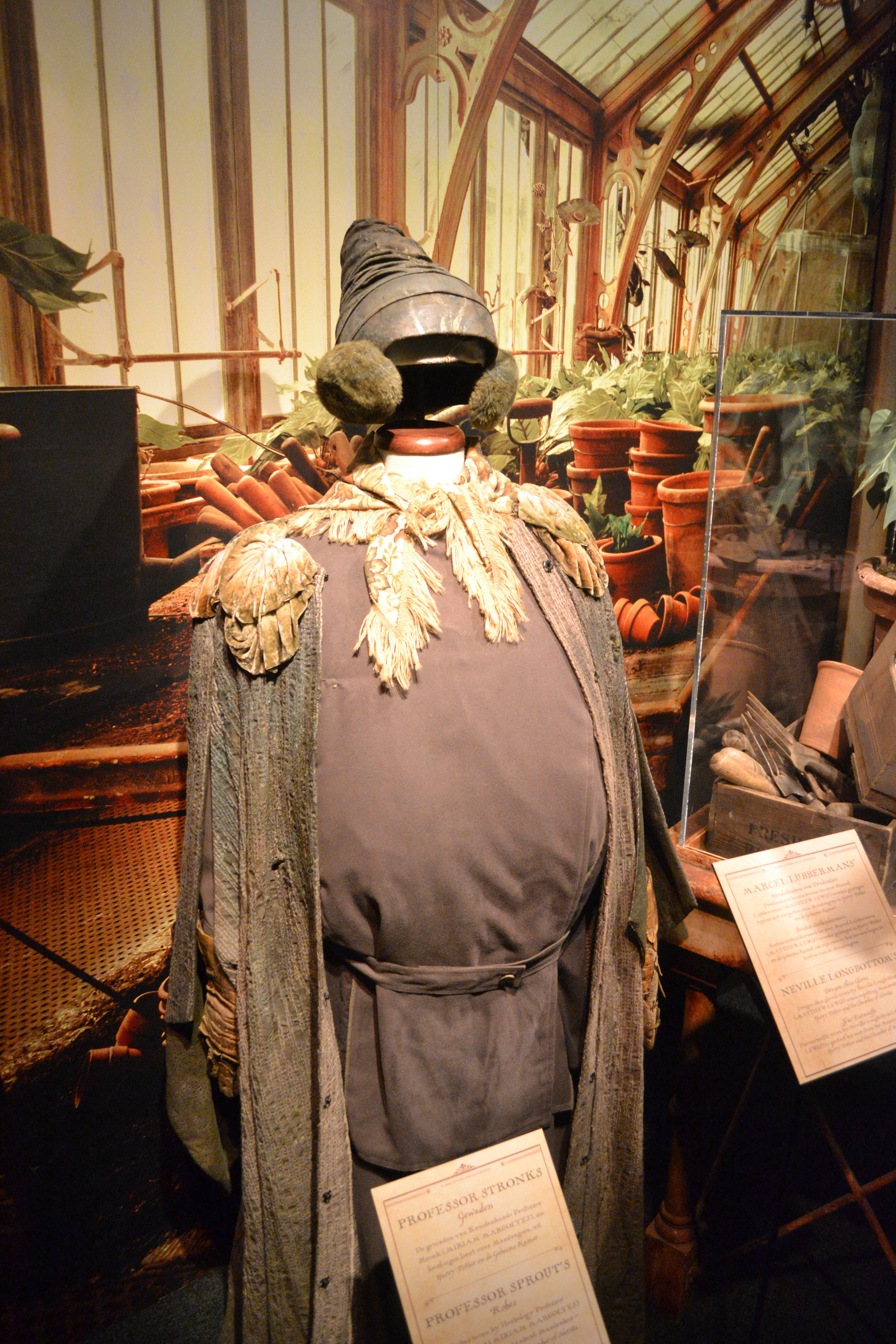 Prof Sprout Outfit Harry Potter Plants Herbology Bradley Mountain